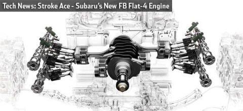 Subaru FB Flat-Four Engine Details