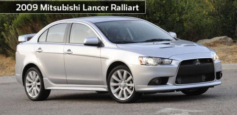 View The Latest First Drive Review Of The 2009 Mitsubishi Lancer Ralliart Find Pictures And