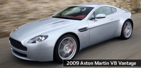 View The Latest First Drive Review Of The 2009 Aston Martin V8