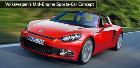 If You Can Believe What Read On The Internet Volkswagen Will Have A New Mid Engine Sports Car Concept Display At Los Angeles Auto Show This