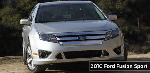 First Look at the New 2010 Ford Fusion Sport s and