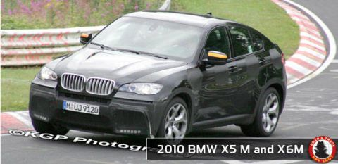 Future Car Spy Shots Of The 2010 Bmw X5 M And X6 M Find More Spy