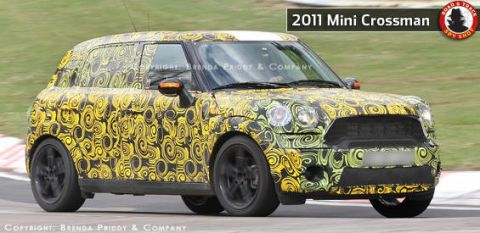 Variant Of The To Go Along With Mini Convertible And Clubman Has Been Undergoing Serious Development Work Crossman As Many