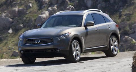 View The Latest First Drive Review Of The 2009 Infiniti Fx Find