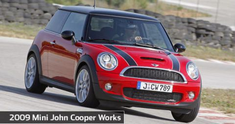 View The Latest First Drive Review Of The 2009 Mini John Cooper