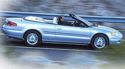 Chrysler Sebring Convertible First Drive Full Review Of
