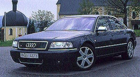 2001 Audi S8 First Drive – Full Review of the New 2001 Audi S8