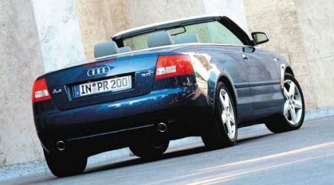 Audi A Cabriolet First Drive Full Review Of The New - 2003 audi a4