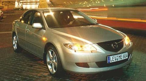2003 mazda 6 first drive – full review of the new 2003 mazda 6