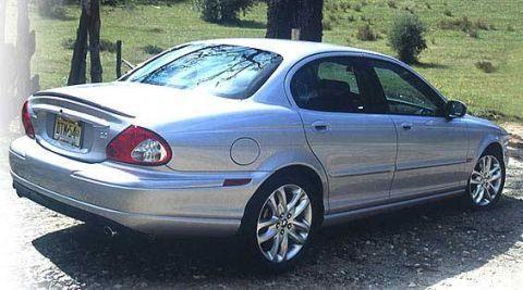 Jaguar f type 2002