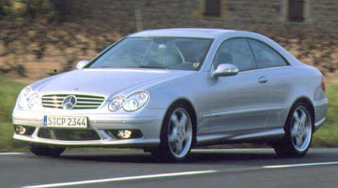 2003 mercedes clk