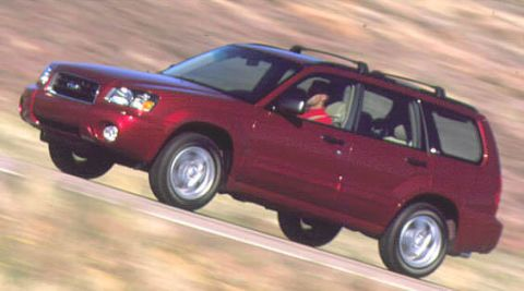 2003 Subaru Forester First Drive – Full Review of the New 2003
