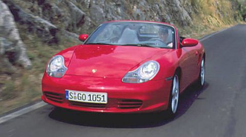 2003 Porsche Boxster First Drive Full Review Of The New