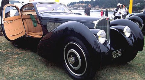 Concours D Elegance >> Behind The Scenes 2003 Pebble Beach Concours D Elegance