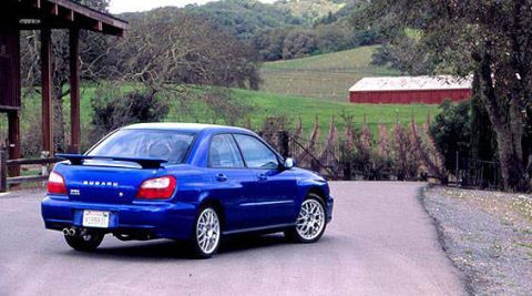 Subaru 2002 wrx