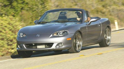 2004 mazdaspeed mx-5 miata first drive - full review of the new 2004