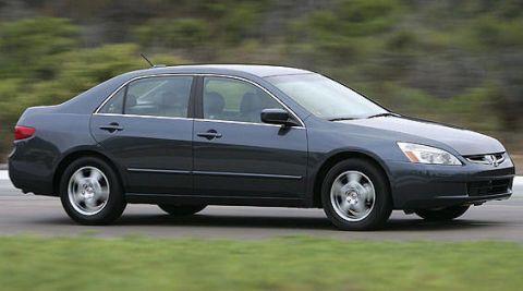 2006 honda accord hybrid gas mileage