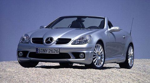 New Mercedes Benz Slk350 I Wrote In Our June 2004 Issue If The Is Best Of Veuve Cliquot Then We Can Expect V 8 Ed Slk55 Amg To