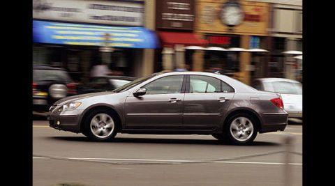 Road Test Of The Acura RL Full Authoritative Test Of The - 2005 acura rl maintenance schedule
