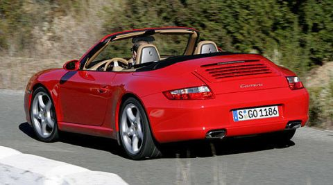 first look at the new 2006 porsche 911 carrera cabriolet photos and just released details. Black Bedroom Furniture Sets. Home Design Ideas
