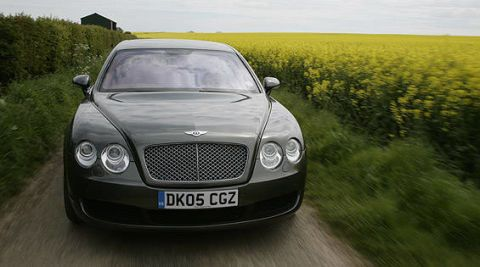 Road Test Of The 2006 Bentley Continental Flying Spur Full