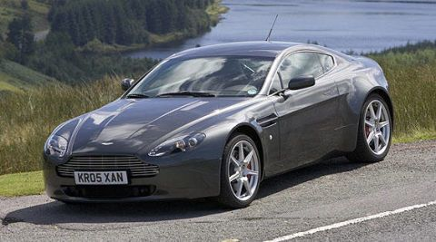 Road Test Of The Aston Martin V Vantage Full Authoritative - Aston martin vantage v8