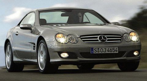 View The Latest First Drive Review Of The 2007 Mercedes Benz Sl550