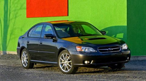 View the latest first drive review of the Subaru Legacy GT spec B