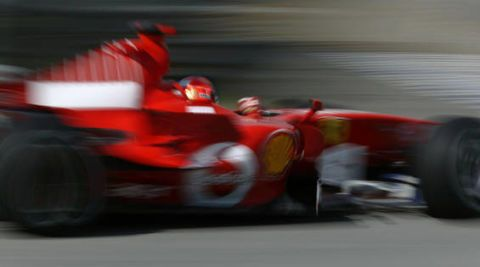 Automotive design, Automotive tire, Motorsport, Red, Open-wheel car, Race track, Car, Racing, Fender, Sports gear,