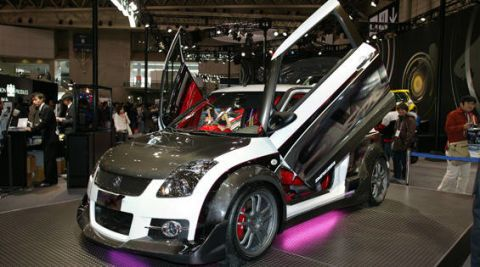 Who Would Have Expected Known Primarily For Making Kei Cars And SUVs To Stand Out At The Tokyo Auto Salon But Swift Sport X Concept