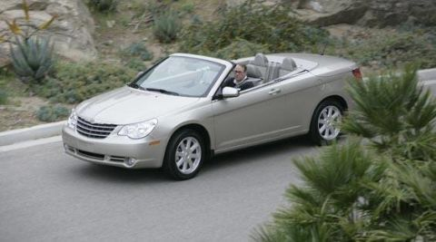 First Look At The New 2008 Chrysler Sebring Convertible