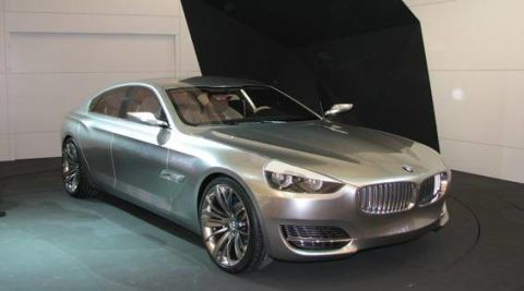 2007 Shanghai Motor Show: BMW Concept CS