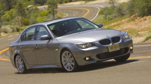 View the latest first drive review of the 2008 BMW 5 Series