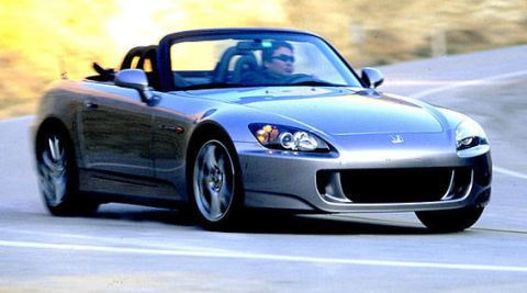 Best All-Around Sports Car: Honda S2000