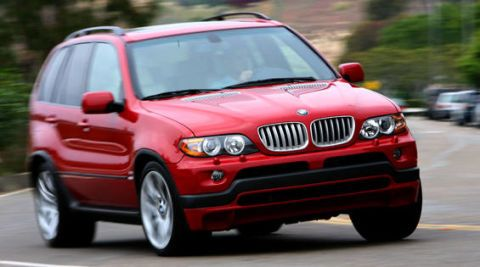 Chariots With Fire: 2006 BMW X5 4.8is