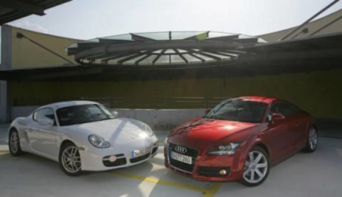 Complete comparison test of the Audi TT 3.2 Quattro and the