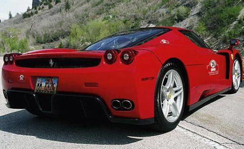 My Father And I Were Reminiscing Again About Old Friends Special Cars Adventures With Both This Time We Driving The Enzo Through Southern Utah