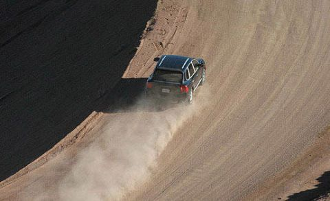 Infrastructure, Landscape, Sand, Slope, Field, Dam, Off-roading, Rolling, Agriculture, Truck,