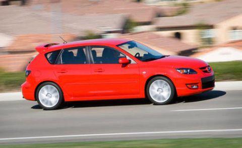 Tire, Automotive design, Vehicle, Car, Red, Alloy wheel, Rim, Hatchback, Automotive wheel system, Automotive tire,