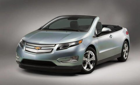 2012 Chevrolet Volt Convertible – First Volt Convertible Images ...