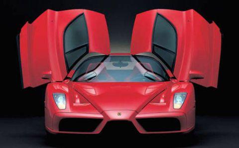 Mode of transport, Automotive design, Vehicle, Red, Automotive lighting, Supercar, Car, Automotive exterior, Hood, Sports car,