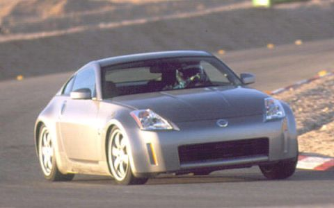 Land vehicle, Vehicle, Car, Sports car, Automotive design, Nissan 350z, Autocross, Nissan, Bumper, Luxury vehicle,