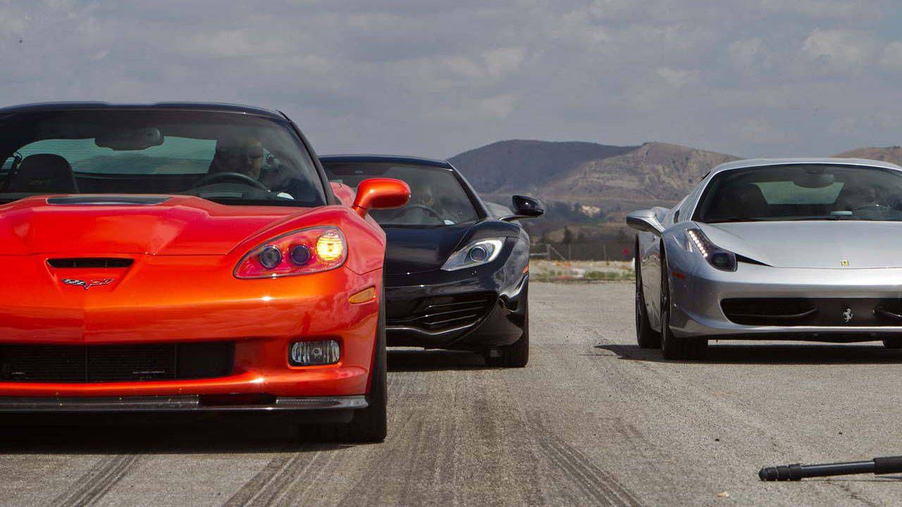 2021 Zr1 Vs Ferrari - Car Wallpaper