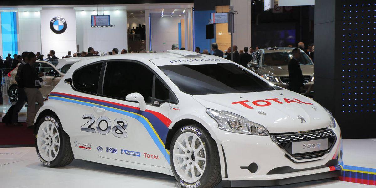Photos: Peugeot 208 R5 Rally Car