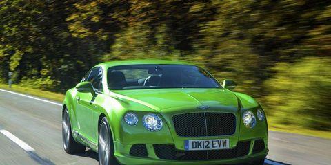 Motor vehicle, Road, Mode of transport, Automotive design, Vehicle, Green, Infrastructure, Car, Bentley, Grille,