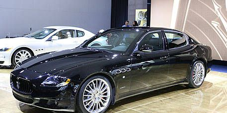 Photos 2009 maserati quattroporte sport gt s the sport gt s is the quattroporte for those who feel the s model just isnt quite a serious enough driving machine sciox Choice Image