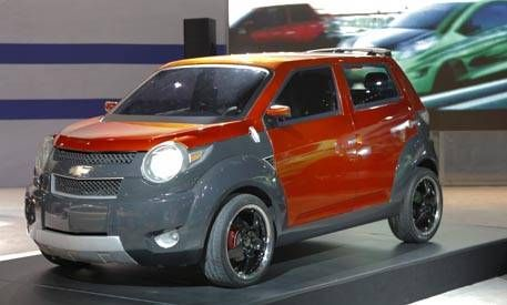 Chevy trax concept