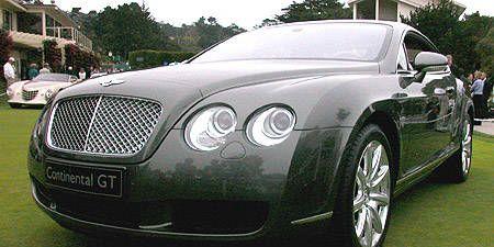 Mode of transport, Automotive design, Vehicle, Land vehicle, Car, Automotive lighting, Bentley, Rim, Personal luxury car, Grille,