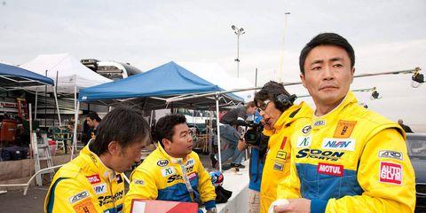 Uniform, Championship, Team, Crew, Tent, Race car,
