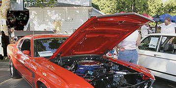 Vehicle, Land vehicle, Car, Hood, Classic car, Muscle car, Performance car, Personal luxury car, Hardtop, Boss 429,